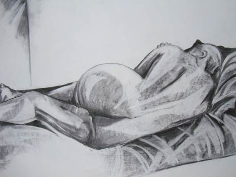 14, Life Drawing no7