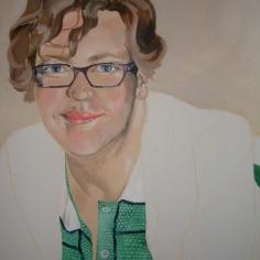 3, Self-Portrait detail