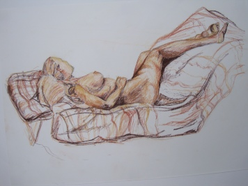 9, Life Drawing no2