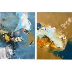 Final Residency Paintings